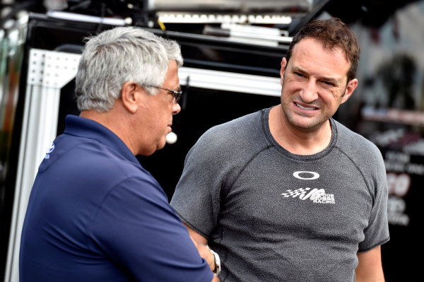 7-8 August, 2015, Watkins Glen, New York USA Kenny Habul, Sun Energy Toyota Camry  and Steve De Souza ?2015, Nigel Kinrade LAT Photo USA