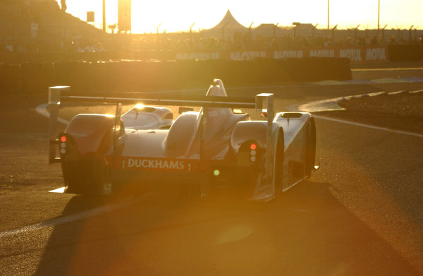 2004 Le Mans 24 Hours.Le Mans, France. 12th-13th June 2004.Nielsen/Elgaard/Moller (Lister Racing Lister/Chevrolet Storm LMP) in action as the sun sets.World Copyright: Jeff Bloxham/LAT Photographicref: Digital Image Only