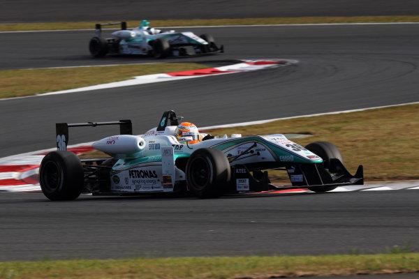 Rd 14 - 15. Fuji Speedway, Japan. 13th - 14th October 2012. Rd 14 - Winner Yuichi Nakayama ( #36 PETRONAS TEAM TOM'S ) World Copyright: Yasushi Ishihara/LAT Photographic ref: Digital Image 2012JF3_Rd14_004