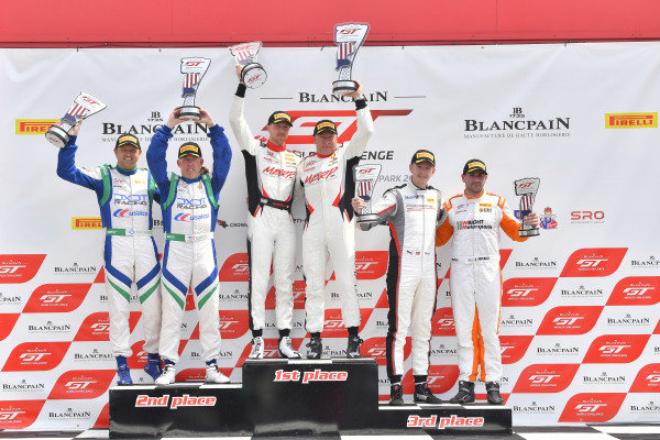 #80 Acura NSX of Martin Barkey and Kyle Marcelli, David Askew, and Ryan Dalziel, Anthony Imperato, and Dennis Olsen