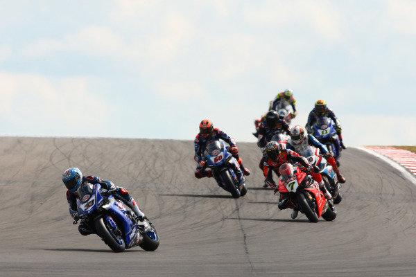 Marco Melandri, GRT Yamaha WorldSBK, Chaz Davies, Aruba.it Racing-Ducati Team.
