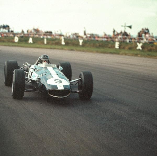 1967 British Grand Prix.Silverstone, England.13-15 July 1967.Dan Gurney (Eagle T1G Weslake).Ref-3/3068.World Copyright - LAT Photographic