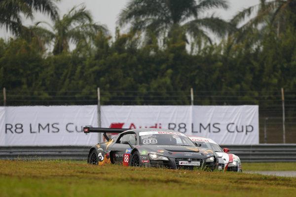 Marchy Lee (HKG) Audi Hong Kong Team at Audi R8 LMS Cup, Rd4, Sepang, Malaysia, 4-6 September 2015.