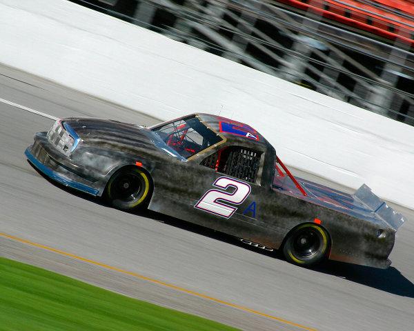 2003 NASCAR Craftsman Truck TestingDaytona, Florida, USA. 12th January 2003.Jason Leffler (Dodge Ultra Motorpsorts), action.World Copyright: Greg Aleck/LAT Photographicref: Digital Image Only