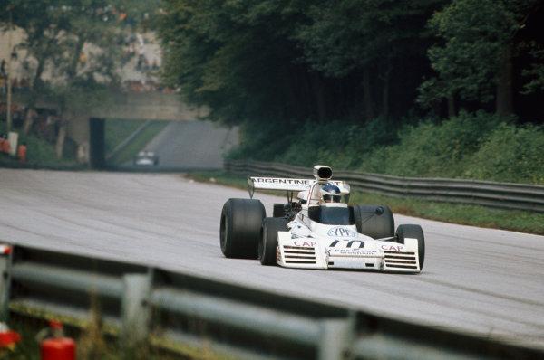 1973 Italian Grand Prix.  Monza, Italy. 7-9th September 1973.  Carlos Reutemann, Brabham BT42 Ford, 6th position.  Ref: 73ITA28. World copyright: LAT Photographic
