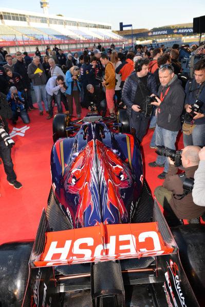 Scuderia Toro Rosso STR9. Scuderia Toro Rosso STR9 Launch, Jerez, Spain, Monday 27 January 2014.