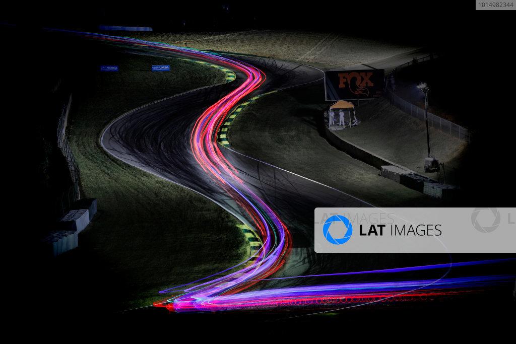 IMSA WeatherTech SportsCar Championship Motul Petit Le Mans Road Atlanta, Braselton GA Thursday 5 October 2017 Night racing World Copyright: Michael L. Levitt LAT Images