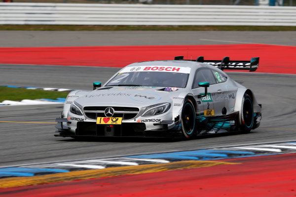 2017 DTM Round 9  Hockenheimring, Germany  Friday 13 October 2017. Gary Paffett, Mercedes-AMG Team HWA, Mercedes-AMG C63 DTM  World Copyright: Alexander Trienitz/LAT Images ref: Digital Image 2017-DTM-HH2-AT2-0278