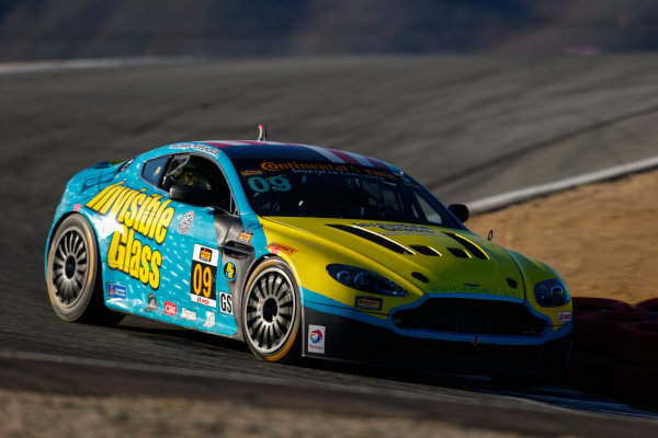 IMSA Continental Tire SportsCar Challenge Mazda Raceway Laguna Seca 240 Mazda Raceway Laguna Seca Monterey, CA USA Friday 22 September 2017 09, Aston Martin, Aston Martin Vantage, GS, Charlie Putman, Charles Espenlaub World Copyright: Jake Galstad LAT Images