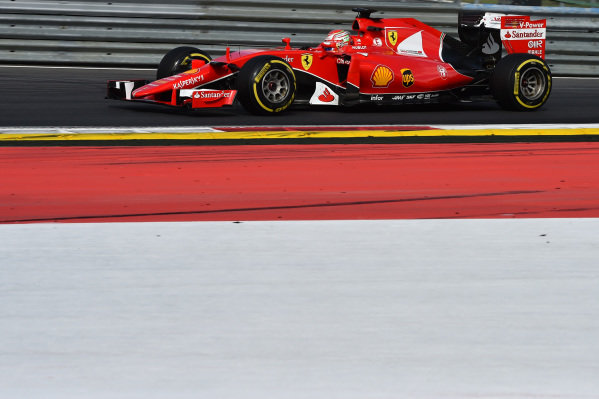 Antonio Fuoco (ITA) Ferrari SF15-T  Formula One Testing, Day One, Spielberg, Austria, Tuesday 23 June 2015.