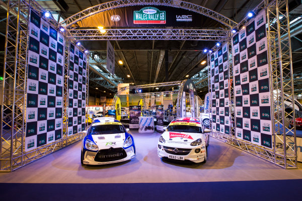 Autosport International Exhibition. National Exhibition Centre, Birmingham, UK. Friday 13 January 2017. Wales Rally GB Feature Photo: Sam Bloxham/LAT Photographic ref: Digital Image _SLB4766