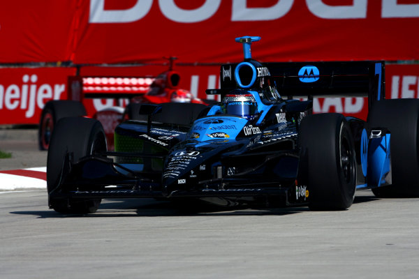 Danica Patrick (USA), Andretti Green Racing Dallara Honda, finished second.IRL IndyCar Series, Rd16, Detroit Indy Grand Prix, Raceway at Belle Isle, Detroit, MI, USA. 31 August - 2 September 2007.