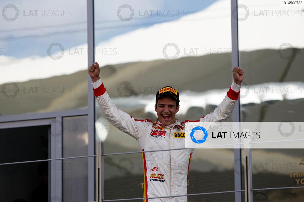 2015 GP3 Series Round 9 Yas Marina Circuit, Abu Dhabi, UAE. Sunday 29 November 2015. Alex Palou (ESP, Campos Racing)  Photo: Sam Bloxham/GP3 Series Media Service. ref: Digital Image _G7C8682