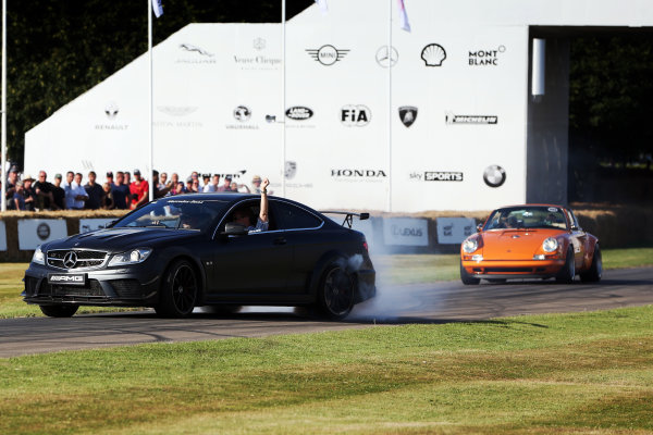 2017 Goodwood Festival of Speed. Goodwood Estate, West Sussex, England. 30th June - 2nd July 2017. AMG Mercedes  World Copyright : JEP/LAT Images