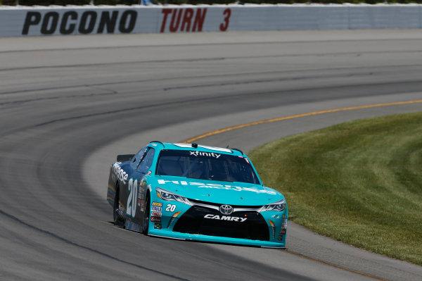 NASCAR XFINITY Series Pocono Green 250 Pocono Raceway, Long Pond, PA USA Friday 9 June 2017 Kyle Benjamin, Hisense Toyota Camry World Copyright: Matthew T. Thacker LAT Images ref: Digital Image 17POC1mt1174