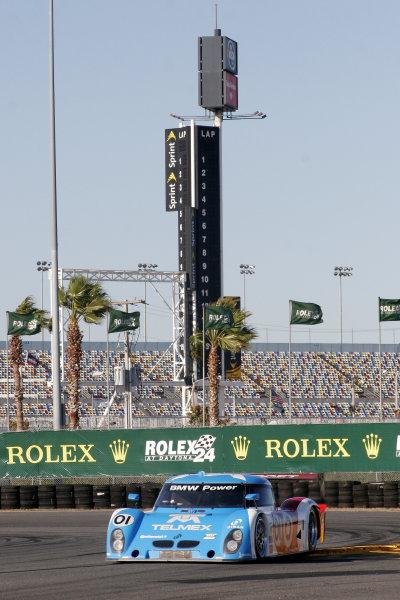 7-9 January, 2011, Daytona Beach, Florida USANo 01, Chip Ganassi Racing with Felix Sabates, BMW Riley driven by Scott Pruett, Memo Rojas, Graham Rahal, Joey Hand.©2011, Greg Aleck, USALAT Photographic