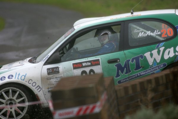 2007 British Rally Championship,Ulster Rally, Northern Ireland,31st August/1st September 2007,Sean McArdle,World Copyright: Ebrey/LAT Photographic