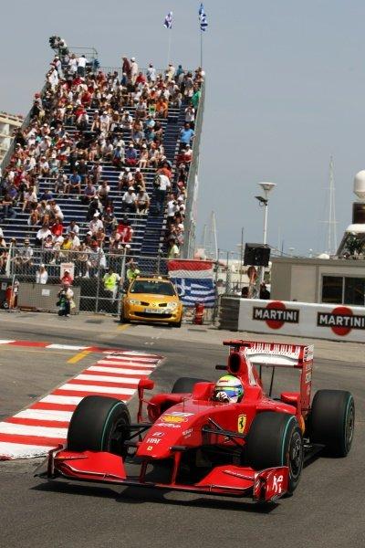 Felipe Massa (BRA) Ferrari F2009. Formula One World Championship, Rd 6, Monaco Grand Prix, Qualifying Day, Monte-Carlo, Monaco, Saturday 23 May 2009.