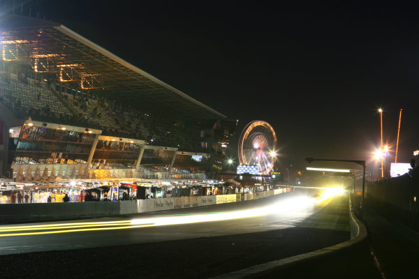 Le Mans, France. 13th - 17th June. Night atmosphere. World Copyright: Kevin Wood/LAT Photographic. ref: Digital Image IMG_2571
