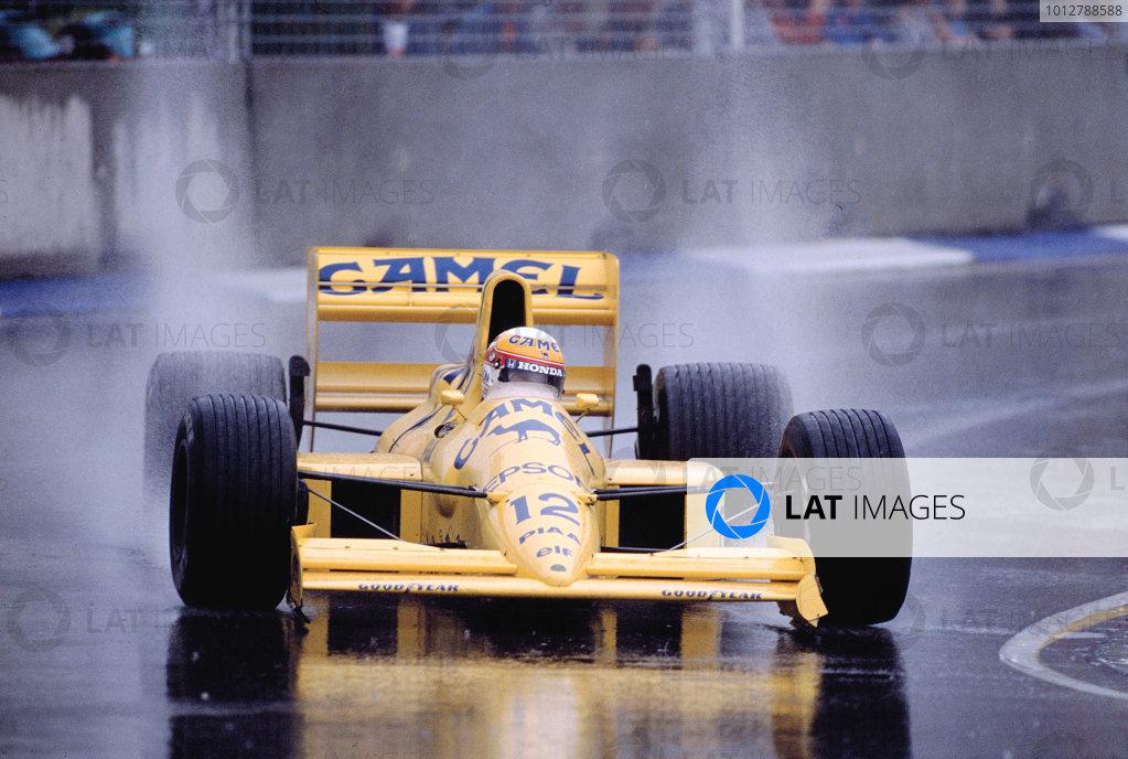 1989 Australian Grand Prix.