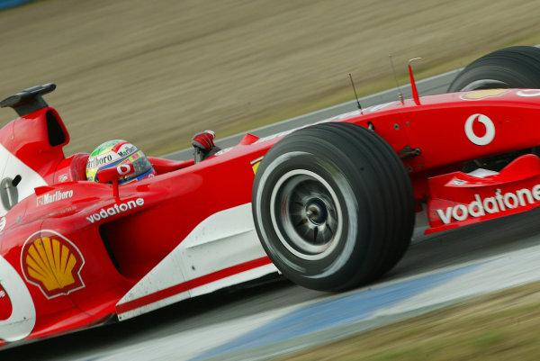 2004 Formula One TestingJerez, Spain.Felipe Massa, Ferrari F2003-GA, Test driver, 8th/9th January 2004.World Copyright:Glenn Dunbar/ LAT Photographic.Digital Image Only.