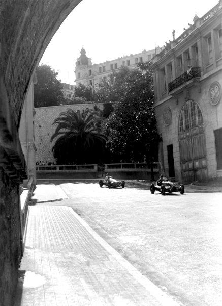 1950 Monaco Grand Prix.Monaco, Monte Carlo. 21st May 1950.Cuth Harrison (ERA B-type). Ref-C26716.World Copyright: LAT Photographic