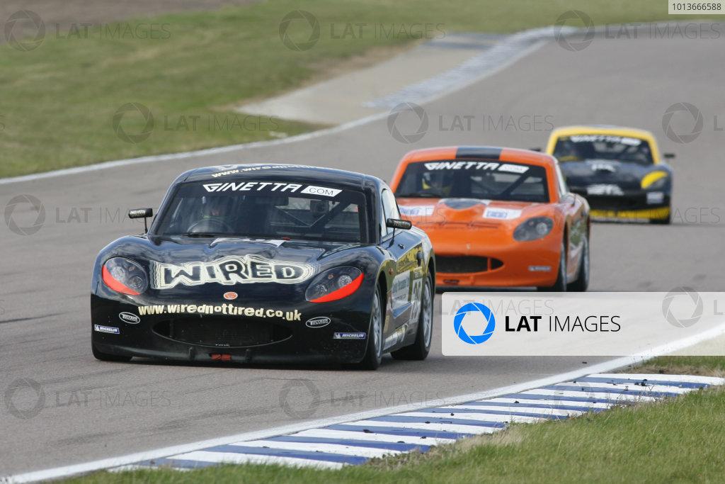 Rockingham, Northamptonshire. 17th - 18th September 2011.Tom Howard (GBR) TJ Motorsport Ginetta G40.World Copyright: Ebrey/LAT Photographic.