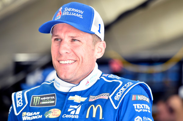Monster Energy NASCAR Cup Series Bank of America 500 Charlotte Motor Speedway, Concord, NC USA Friday 6 October 2017 Jamie McMurray, Chip Ganassi Racing, GearWrench Chevrolet SS World Copyright: Nigel Kinrade LAT Images