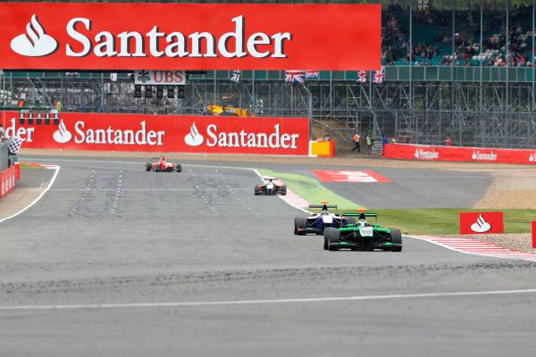 2014 GP3 Series Round 3. Silverstone International Circuit, Silverstone, Northamptonshire, England Sunday 6 July 2014. Alfonso Celis Jr (MEX, Status Grand Prix)  Photo: Adam Warner/GP3 Series Media Service. ref: Digital Image _L5R0912