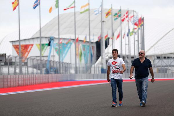 2014 GP3 Series. Round 8.   Sochi Autodrom, Sochi, Russia.  Wednesday 8 October 2014. Santiago Urrutia (URU, Koiranen GP)  Photo: Sam Bloxham/GP3 Series Media Service. ref: Digital Image _SBL5985