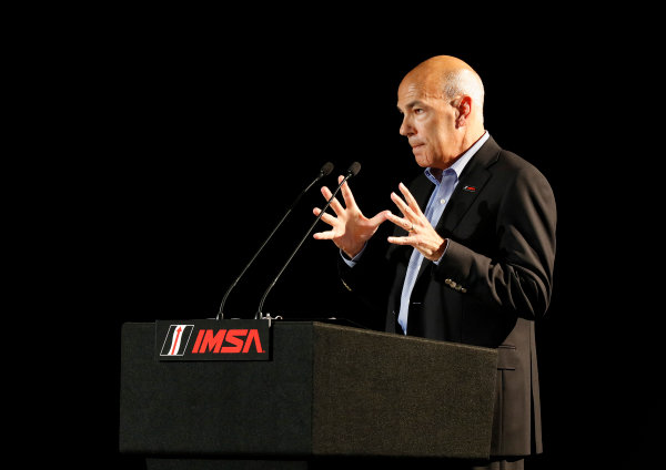 7-9 August, 2015, Elkhart Lake, Wisconsin, USA IMSA President and COO Scott Atherton ? 2015, Michael L. Levitt LAT Photo USA