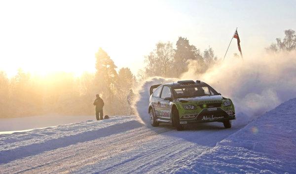 Round 02Rally Norway 12-15 February 2009Jari-Matti latvala, Action, Ford.Worldwide Copyright: McKlein/LAT