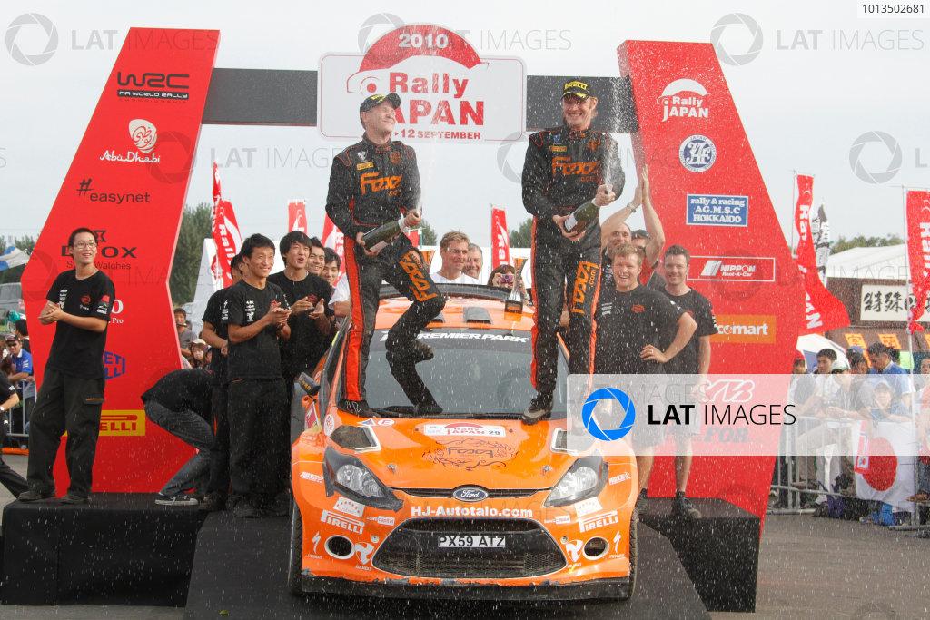Winner S2000, Jari Ketomaa (FIN), Mika Stenberg (FIN), Ford Fiesta S2000, 2010 FIA World Rally Championship