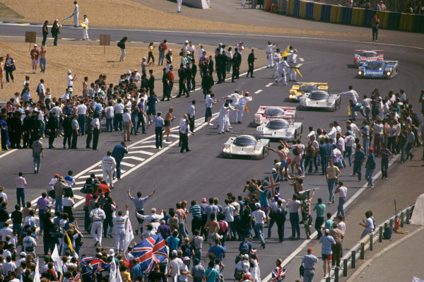 Le Mans, France. 10th - 11th June 1989.