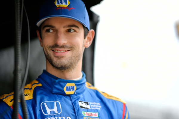 Verizon IndyCar Series IndyCar Grand Prix Indianapolis Motor Speedway, Indianapolis, IN USA Friday 12 May 2017 Alexander Rossi, Andretti Herta Autosport with Curb-Agajanian Honda World Copyright: Scott R LePage LAT Images ref: Digital Image lepage-170512-indy-0183