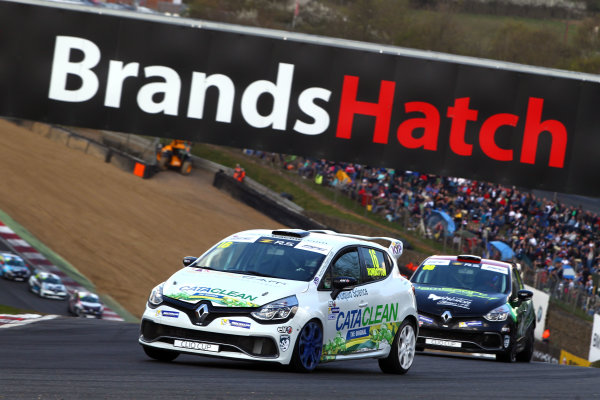 2017 Renault Clio Cup Brands Hatch, 1st-2nd April 2017 Dan Rowbottom (GBR)  World Copyright. JEP/LAT Images