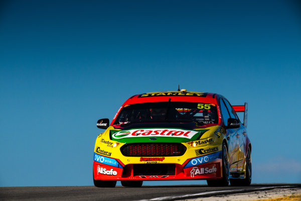 2017 Supercars Championship Round 4.  Perth SuperSprint, Barbagallo Raceway, Western Australia, Australia. Friday May 5th to Sunday May 7th 2017. Chaz Mostert drives the #55 Supercheap Auto Racing Ford Falcon FGX. World Copyright: Daniel Kalisz/LAT Images Ref: Digital Image 050517_VASCR4_DKIMG_1521.JPG