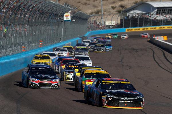 12-14 November, 2016, Avondale, Arizona,  USA , Denny Hamlin, FedEx Ground Toyota Camry ?2016, Michael L. Levitt LAT Photo USA