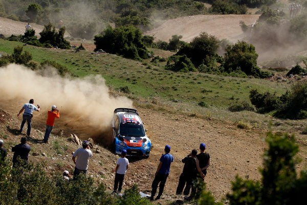 Round 06 - Rally Acropolis Greece 24-27 May 2012. Mads Ostberg, Ford WRC, Action.  Worldwide Copyright: McKlein/LAT