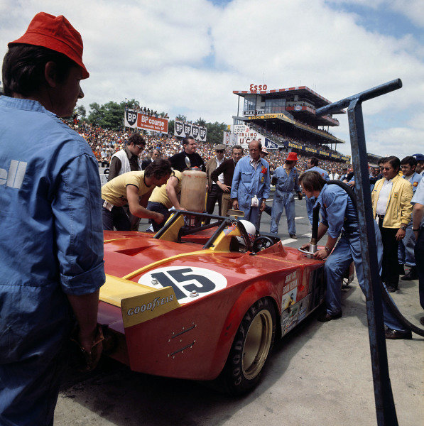1973 Le Mans 24 hours Le Mans, France. 9-10 June 1973 Jacky Ickx/Brian Redman (Ferrari 312PB), retired World Copyright: LAT Photographic