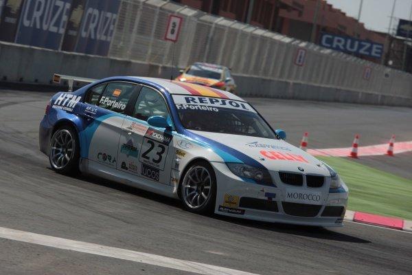 Felix Porteiro (ESP), BMW 320si. FIA World Touring Car Championship, Rd3, Marrakech, Morocco, 3 May 2009.