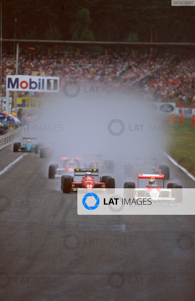 Hockenheim, Germany.