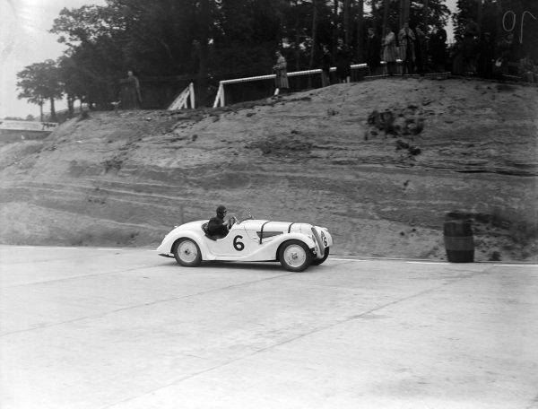 Harold John Aldington, BMW 328.
