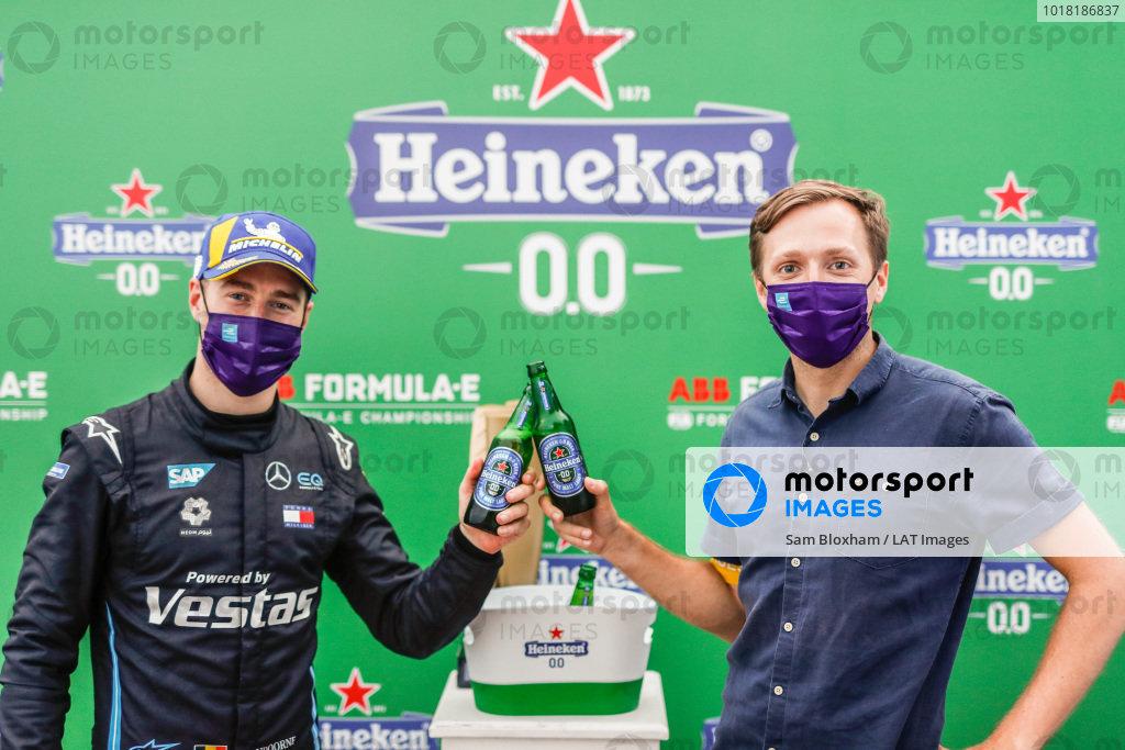 Stoffel Vandoorne (BEL), Mercedes Benz EQ, 1st position