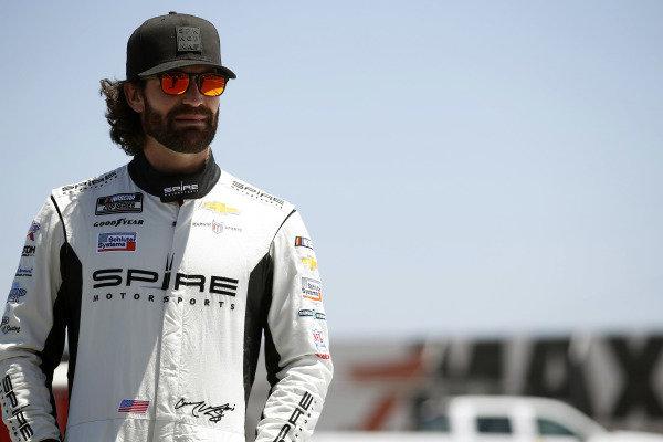 #7: Corey LaJoie, Spire Motorsports, Chevrolet Camaro Nations Guard