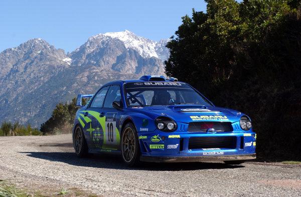 2002 World Rally ChampionshipInmarsat Corsica Rally, 8th-10th March 2002.Tommi Makinen during shakedown.Photo: Ralph Hardwick/LAT