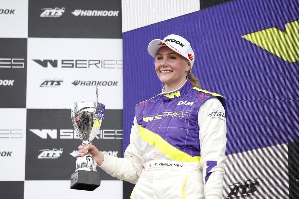 Podium: Emma Kimilainen (FIN).