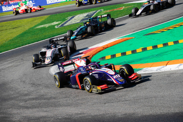 AUTODROMO NAZIONALE MONZA, ITALY - SEPTEMBER 08: Giuliano Alesi (FRA, TRIDENT) during the Monza at Autodromo Nazionale Monza on September 08, 2019 in Autodromo Nazionale Monza, Italy. (Photo by Joe Portlock / LAT Images / FIA F2 Championship)
