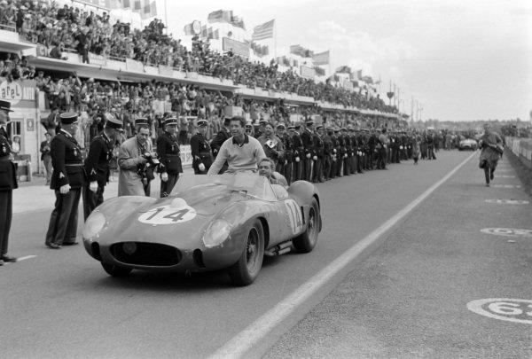 Olivier Gendebien / Phil Hill, Scuderia Ferrari, Ferrari 250 TR58.
