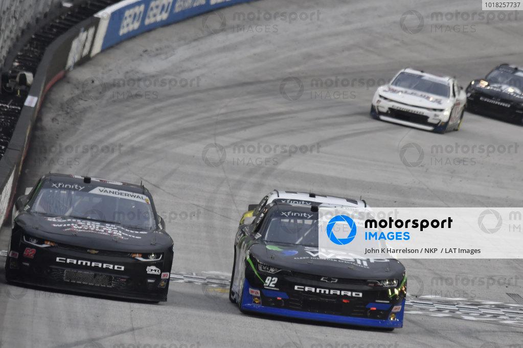 #52: Kody Vanderwal, Means Motorsports, Chevrolet Camaro The Rolling Home Show with Bill Malone, #92: Josh Williams, DGM Racing, Chevrolet Camaro Sleep Well